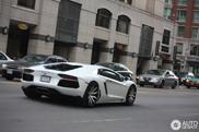 Spotted: Lamborghini Aventador LP700-4 on rims of Forgiato