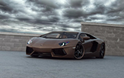 Brown terror from Germany: Lamborghini Aventador Chocolate LP777-4