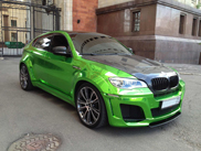 Ready to spot in Moscow: chrome green Lumma CLR X 650 M