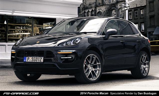 Rendering: Porsche Macan
