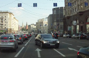 Movie: how to deal with traffic jams in Moscow