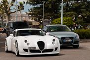 White beauty spotted: Wiesmann GT MF5