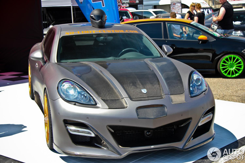 Sport Auto High Performance Days 2012: Panamera door No Limit Custom