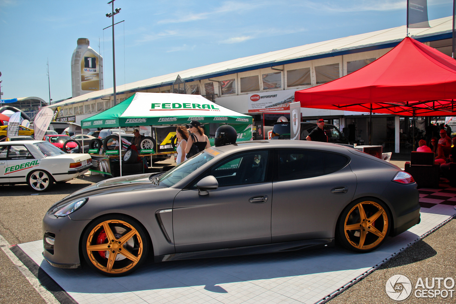 Sport Auto High Performance Days 2012 Panamera By No