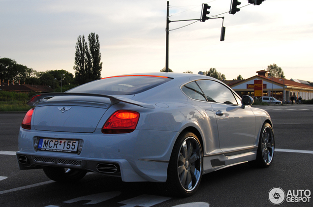 Japanse bodykit op Bentley: Premier4509 Continental GT