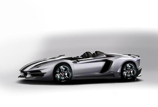 Hopeloze rendering: Prindiville Lamborghini Aventador J