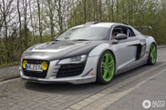 Ultrasporting version of the Audi R8 spotted!