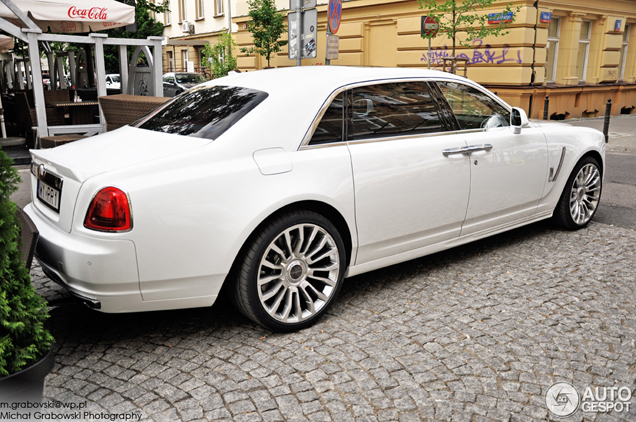 Dat is nummer twee: Rolls-Royce Mansory White Ghost Limited