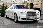 This is number two: Rolls-Royce Mansory White Ghost Limited