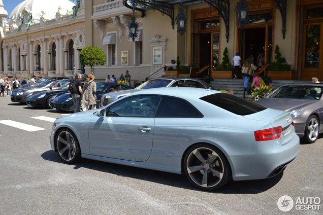 Grijze muis in Monaco: Audi RS5