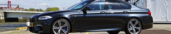Photoshoot: BMW M5 F10