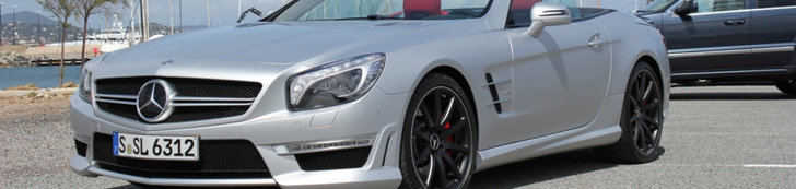 Spotted: the new Mercedes-Benz SL 63 AMG R231