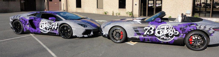 Spotted: Team Galag of the Gumball 3000