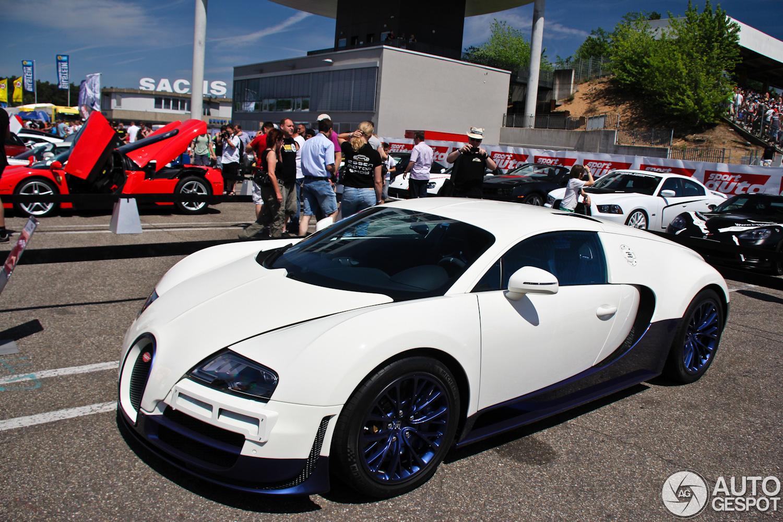 Sport Auto High Performance Days 2012: Veyron 16.4 Super Sport in nieuwe kleuren
