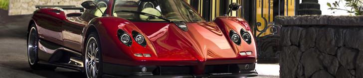 Wallpapers: Pagani Zonda C12-S Roadster in Monaco