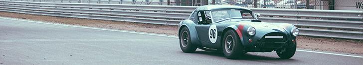 Reportaje fotográfico: AC Cobra en el circuito de Zandvoort
