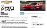 Nauja Corvette Stingray gamina 461 AG