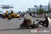 Un accident cu Lamborghini ia viata unui scuterist