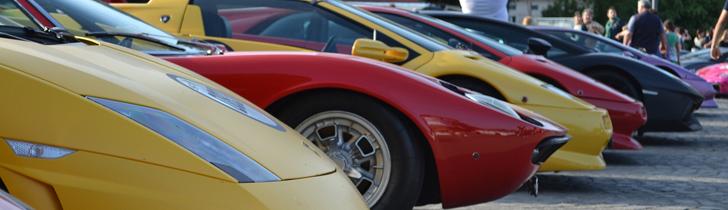 Événement : un rassemblement pour les 50 ans de Lamborghini