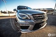 Mercedes-Benz ML 63 AMG pastebetas Sidnejuje!