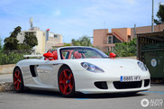 Porsche Carrera GT com uma configuração espetacular!