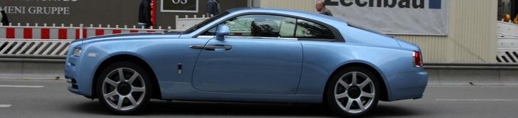 La Rolls-Royce Wraith est un modèle difficile à juger