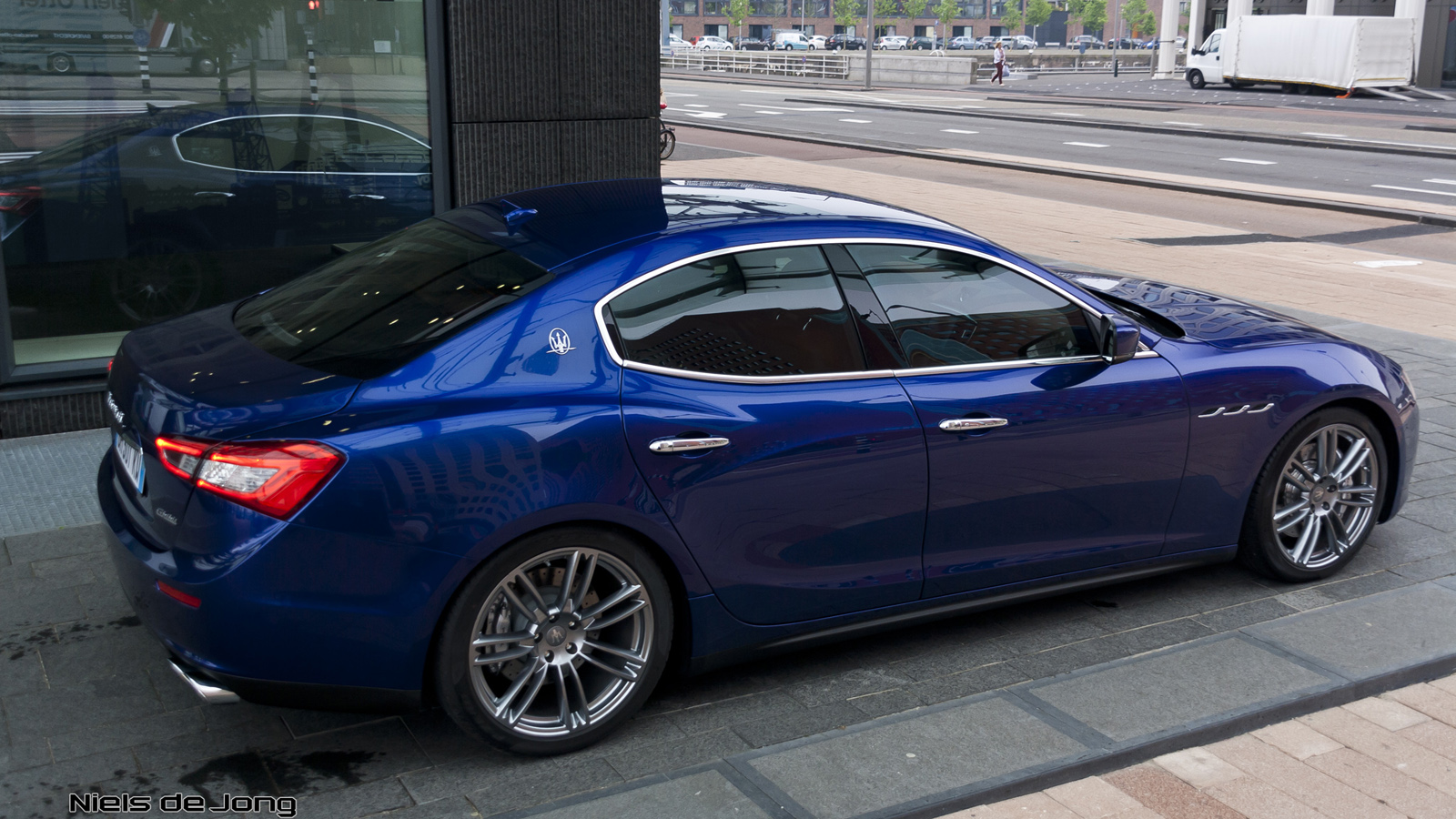 More Pictures Of The Maserati Ghibli In Rotterdam
