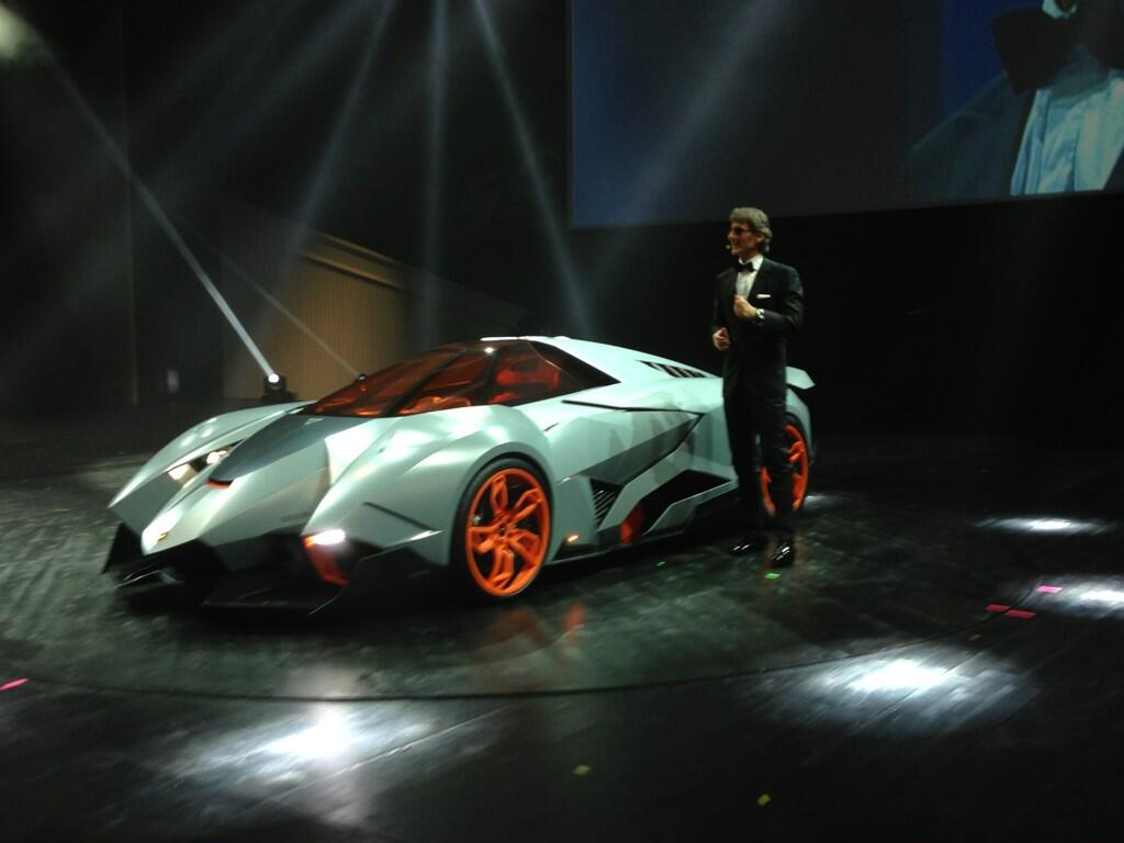 A Surprise From Lamborghini The Egoista
