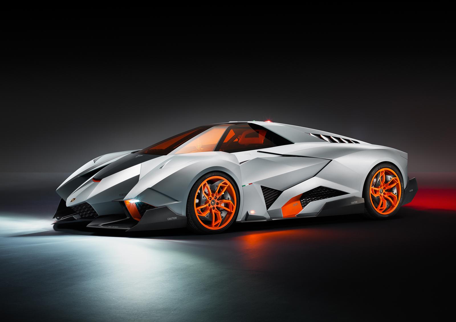 o lamborghini egoista the more extreme better - Lamborghini Veneno Silver