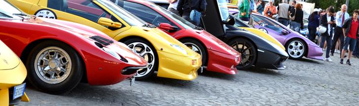 De nouvelles photos du Grande Giro du 50e anniversaire de Lamborghini