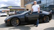 Guvernul elimina un bump la cererea unui proprietar Lexus LF-A
