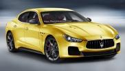 Рендер Maserati Ghibli MC Stradale