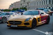 SLS AMG Black Series - Fúria alemã em São Petersburgo