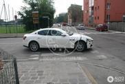 Maserati Ghibli avistado já quase sem camuflagem