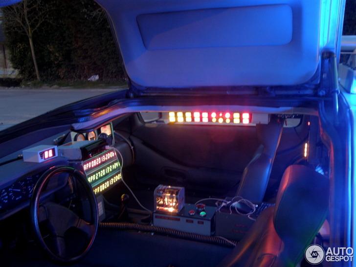 Deze DeLorean DMC-12 is klaar voor een tijdreis!