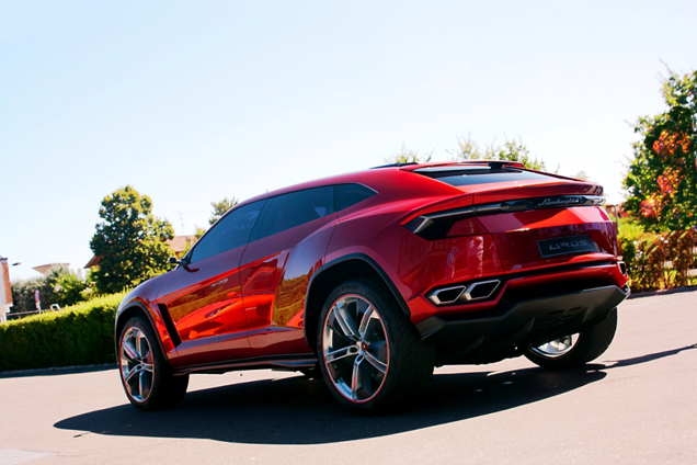 lamborghini urus confirmed for production. Black Bedroom Furniture Sets. Home Design Ideas