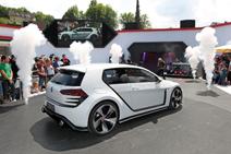 Very brutal: Volkswagen Design Vision GTI concept