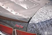 Pastebėta Chevrolet Camaro SS su specialia plėvele