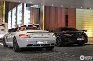 Bizarre AMG-combo in Dubai vastgelegd