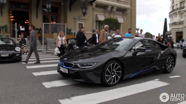 Bmw Tries To Attract More Customers For Their I8 In Monaco