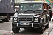 Deze Mercedes-Benz G 63 AMG heeft een mysterieuze eigenaar