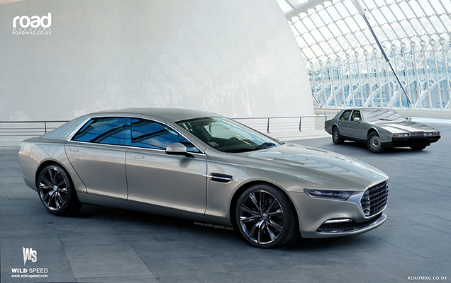 Aston Martin Lagonda revives as a limousine in 2015