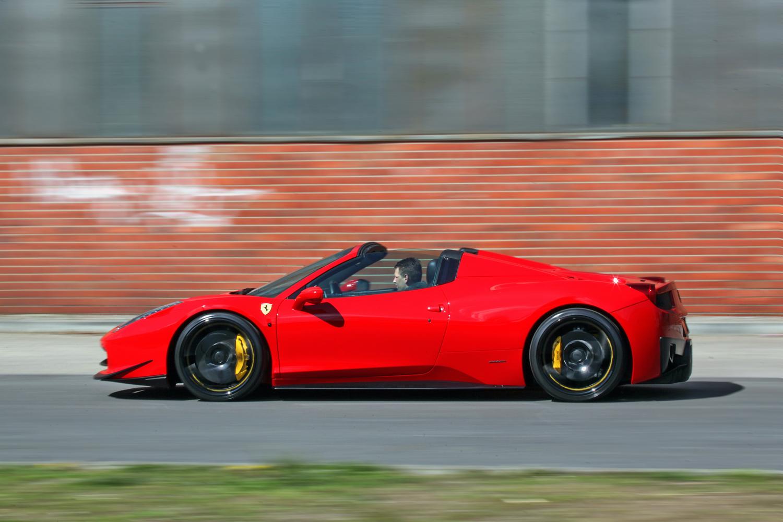 Mec Design Ferrari 458 Spider Quot Scossa Rossa Quot Looks Quite Good