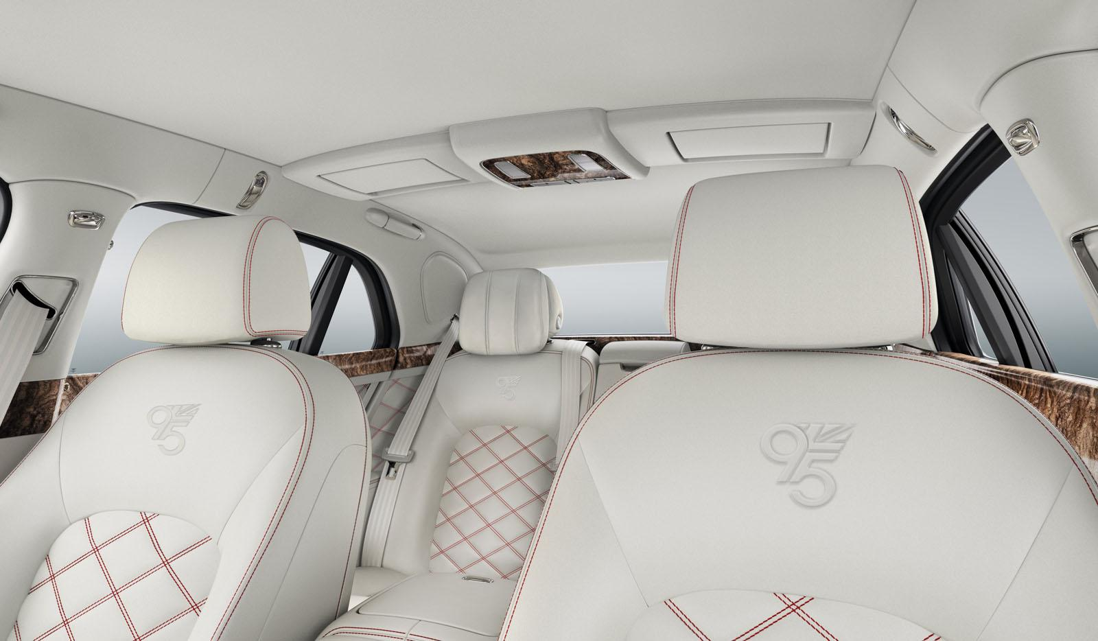 Bentley Celebrates 95th Anniversary With The Mulsanne 95