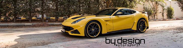 Ecco la prima Novitec Rosso N-Largo in giallo by BY DESIGN