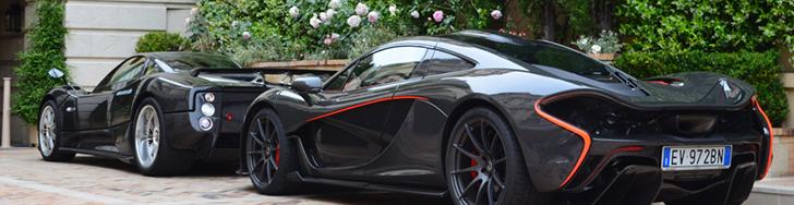 Prvi McLaren P1 je konačno primećen u Monaku!