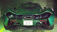 McLaren P1 Với Tông Màu Xanh Đặc Biệt!