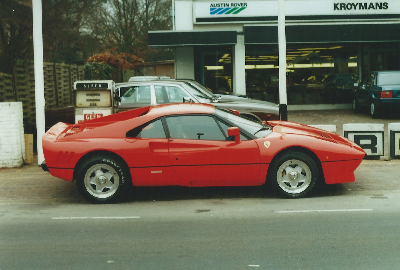 Old School Ferrari En Lamborghini Spotten