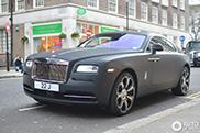 Rolls-Royce Wraith Matte Đen Tại Luân Đôn