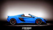 McLaren 675 LT Spider will be introduced in 2016